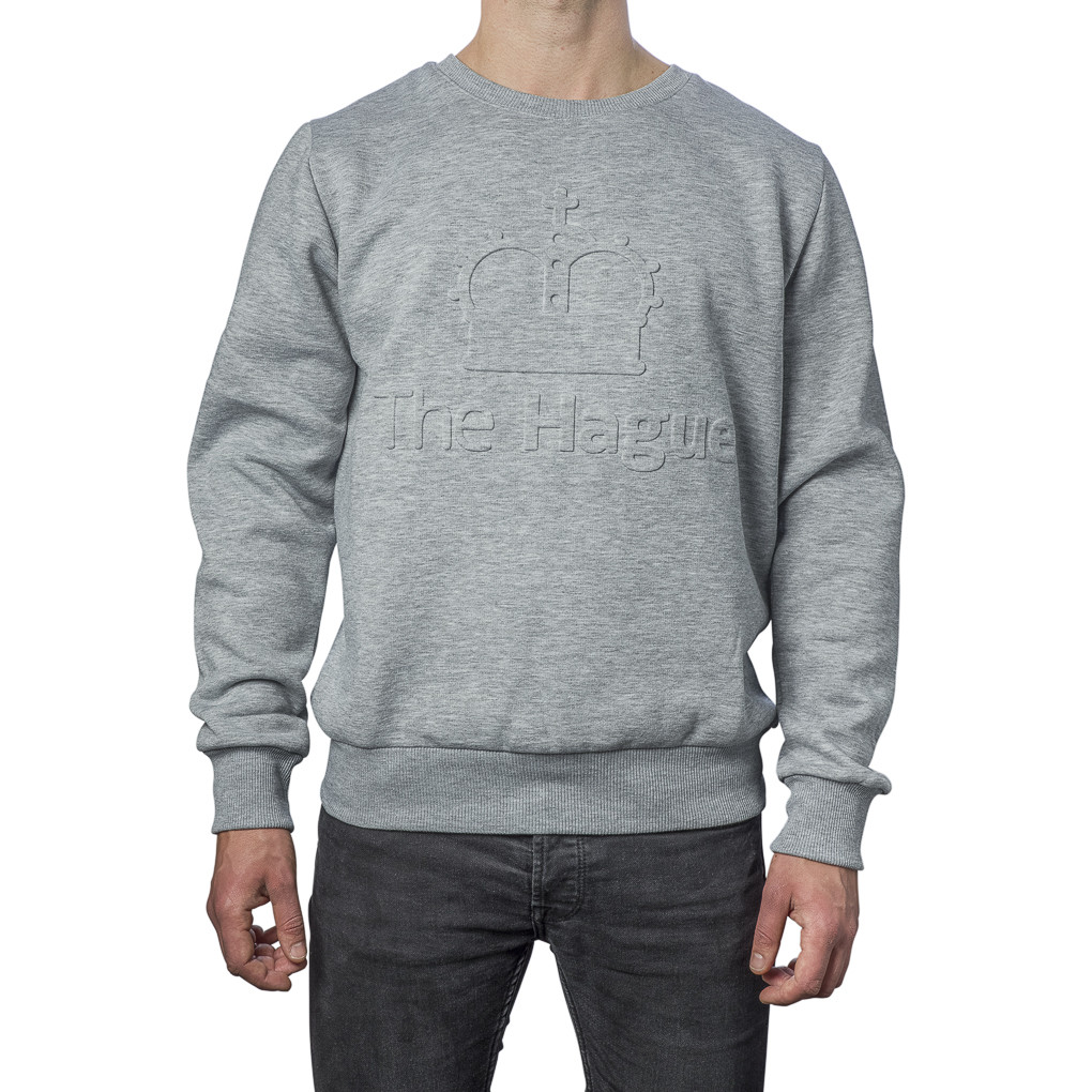 Sweater Crown Grijs Extra Extra Large