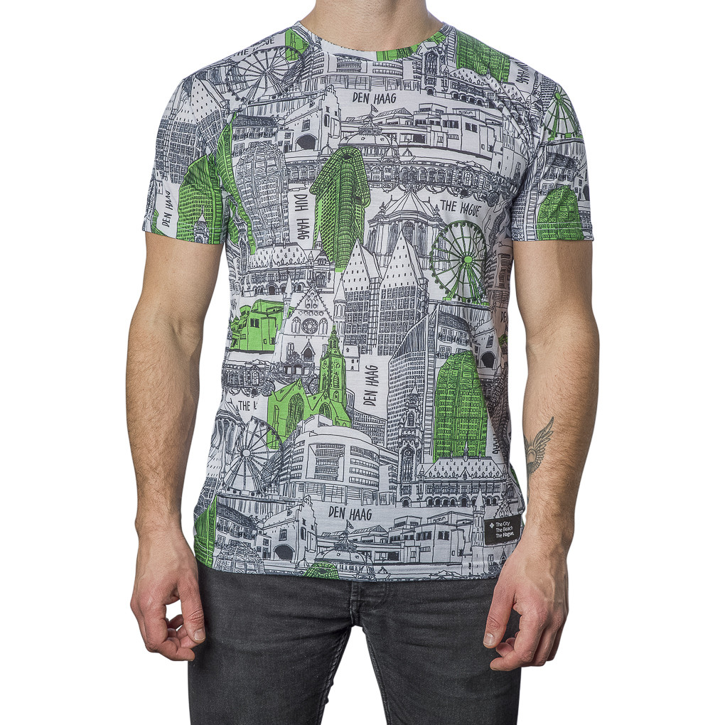 T-Shirt The Hague Icon Maat Extra Extra Large
