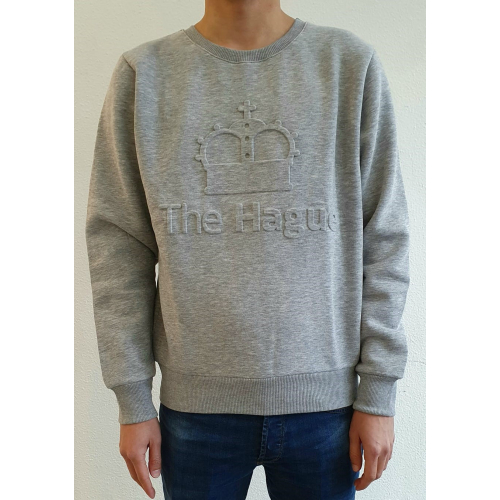 Sweater Crown Grijs Extra Large