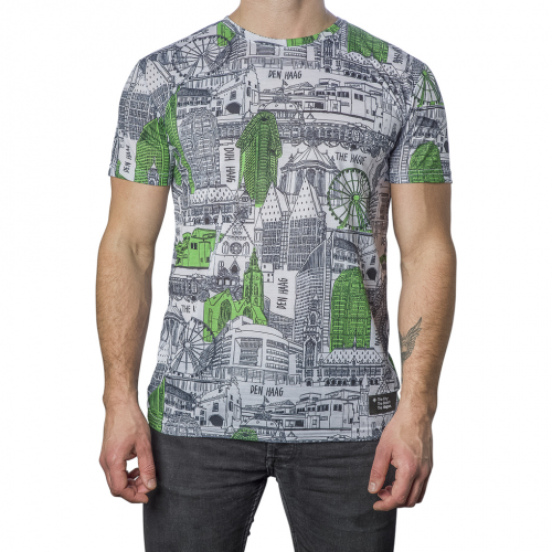 T-Shirt The Hague Icon Maat Extra Small