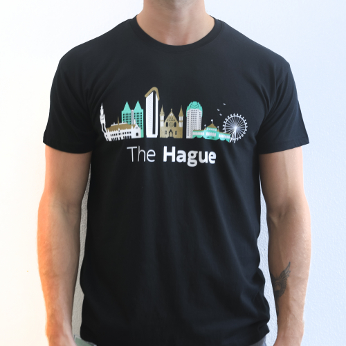 The Hague T-shirt Skyline Large